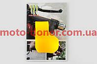 Рычаг круиз контроля ручки газа   MONSTER ENERGY   (универсальный, желтый)   XJB