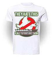 Футболка Охотники за привидениями Ghostbusters