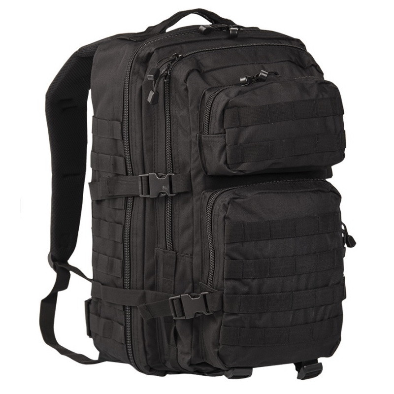 Штурмовий рюкзак великий 36 л. чорний Mil-Tec