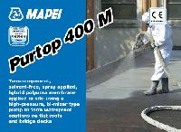 Двухкомпонентная гидроизоляционная мембрана(наносится насосом) PURTOP 400M
