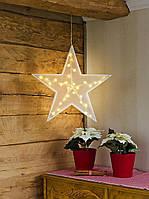 Декоративная лампа звезда Konstsmide LED, фото 2