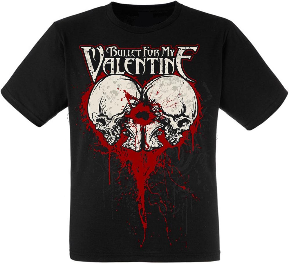 Футболка Bullet For My Valentine (blood skulls)