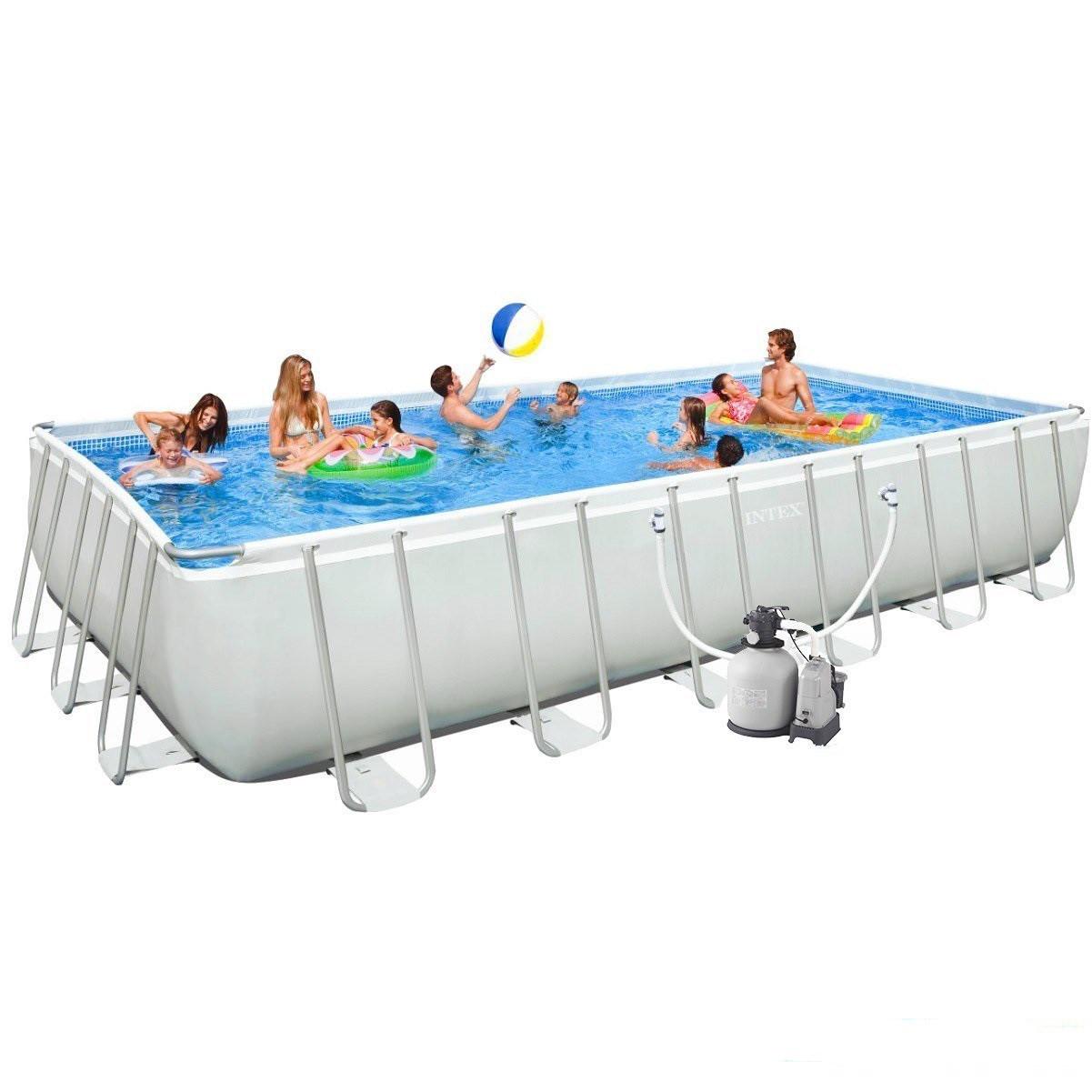 Каркасный бассейн Intex 28368.Pool 732 х 366 х 132 см Басейн