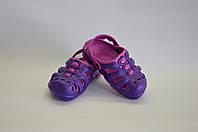 Сабо детские фиолетовые оптом Dreamstan, фото 1
