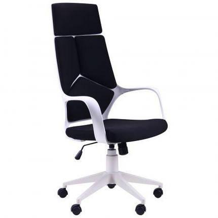 Кресло Urban HB белый, тк.черный TM AMF, фото 2