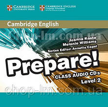 Cambridge English Prepare! 2 Class Audio CDs / Аудио диск