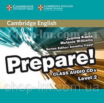 Cambridge English Prepare! 2 Class Audio CDs / Аудио диск, фото 2