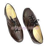 """Кожаные коричневые женские кроссовки на шнуровке. ТМ """"Maestro"""", фото 6"""