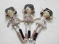 Мягкая игрушка кукла в европейском стиле для самых маленьких
