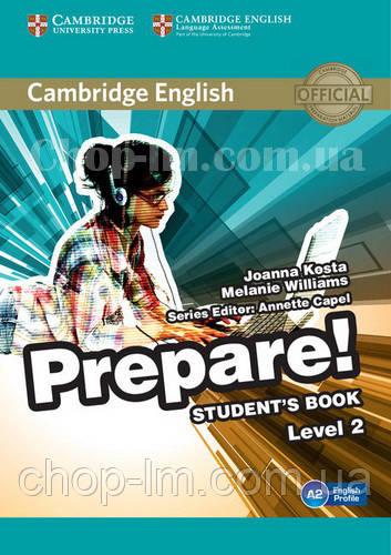 Cambridge English Prepare! 2 Student's Book / Учебник