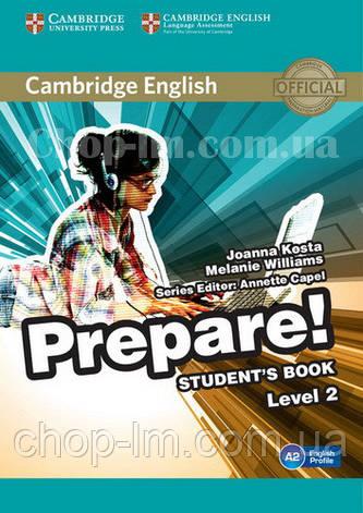 Cambridge English Prepare! 2 Student's Book / Учебник, фото 2