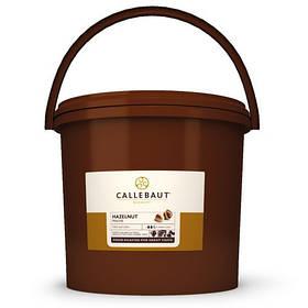 Фундучна паста 100% не солодка  Callebaut Pure Roasted Hazelnut Paste, 5 кг відро