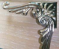 Уголок серебро, фото 1