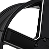 KMC KM702 DUECE Satin Black with Milled Accents, фото 2
