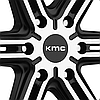 KMC KM686 FACTION Satin Black with Machined Face, фото 3