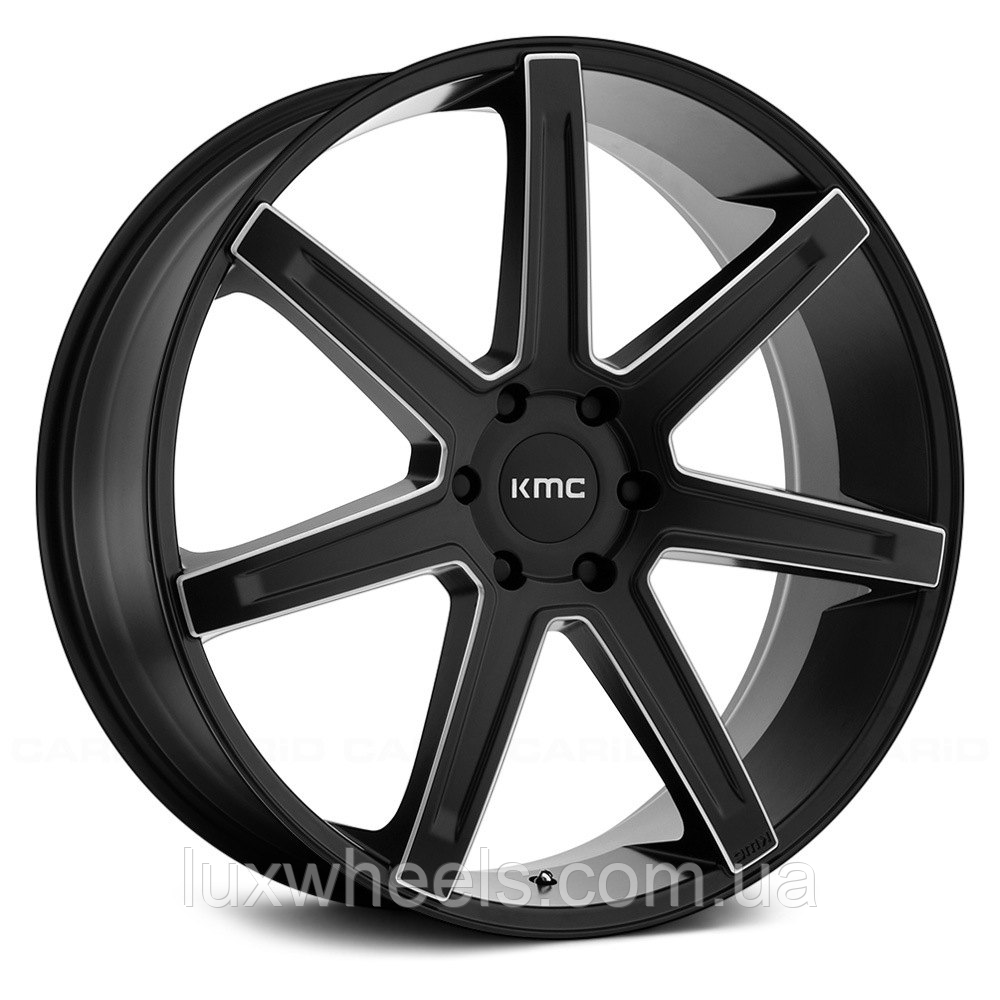 KMC KM700 REVERT Satin Black with Milled Accents