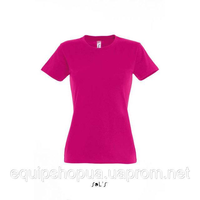 Футболка женская с круглым воротом SOL'S IMPERIAL WOMEN-11502 Розовый, l