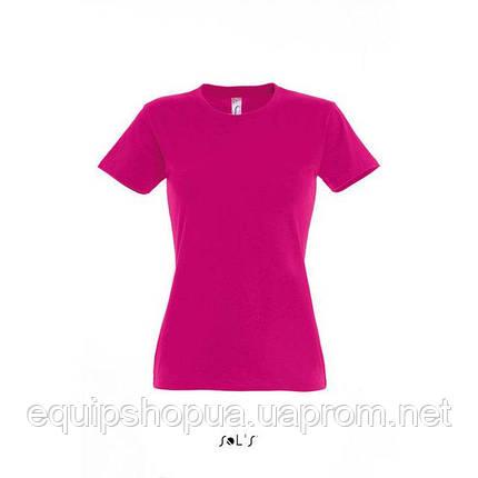 Футболка женская с круглым воротом SOL'S IMPERIAL WOMEN-11502 Розовый, l, фото 2