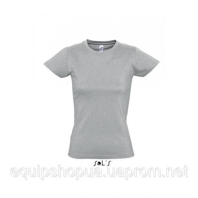 Футболка женская с круглым воротом SOL'S IMPERIAL WOMEN-11502 Серый, s