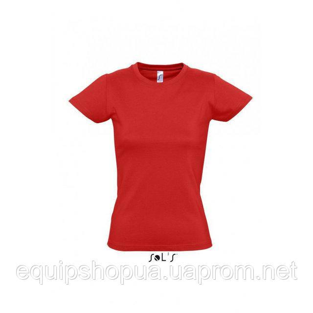 Футболка женская с круглым воротом SOL'S IMPERIAL WOMEN-11502 Красный, l