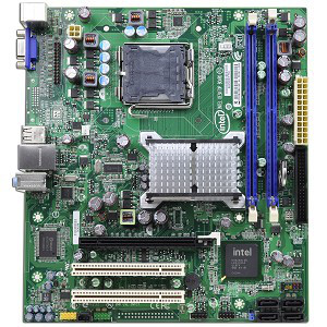 Материнська плата Intel DG41RQ (s775/G41) б/у
