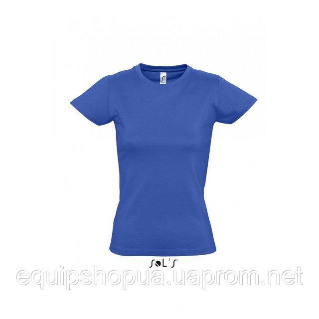 Футболка женская с круглым воротом SOL'S IMPERIAL WOMEN-11502 Синий, s