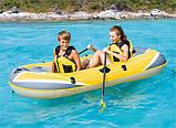 61064 BW Надувная лодка Hydro-Force Raft 228х121 см, без весел, фото 3