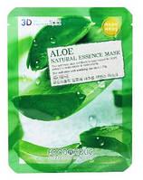 Маска тканевая с алоэ Food A Holic Natural Essence 3D Mask Aloe