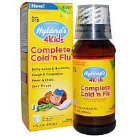Hyland's, Средство для лечения симптомов простуды для детей, 4 жидких унций (118 мл)
