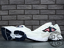 Мужские кроссовки Adidas x Raf Simons Ozweego 2 White/Pink, фото 2
