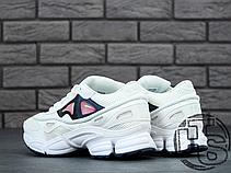 Мужские кроссовки Adidas x Raf Simons Ozweego 2 White/Pink, фото 3