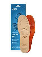 Гелевые массажные стельки KAPS Solveo Gel с текстильным покрытием