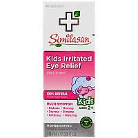 Similasan, Детское лекарство от раздражения глаз, стерильные глазные капли, от 2 лет и старше, 0,33 жидких унций (10 мл)