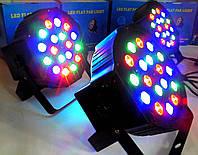 LED PAR 18*1W. RGB Стробоскоп, подсветка, светомузыка