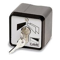 Ключ-выключатель для ворот шлагбаума CAME SET-E кнопка-ключ, фото 1