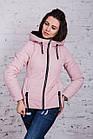 Брендовая женская куртка AMAZONKA на весну модель 2018 - (кт-252), фото 10