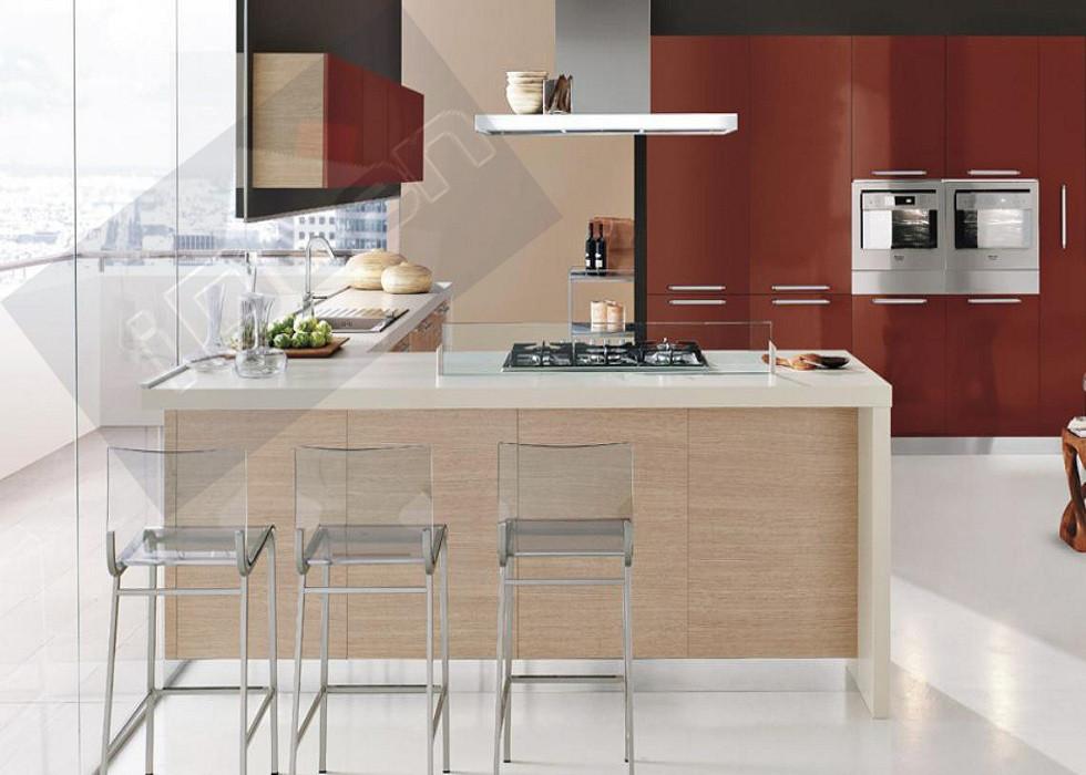 Кухня Red&Wood