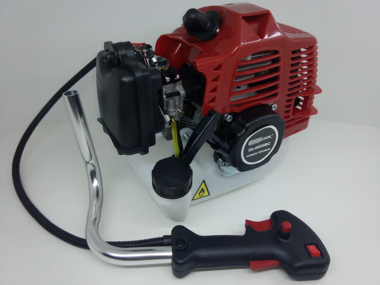 Двигатель в сборе  с ручкой управления  D=40мм