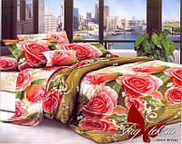 Комплект постельного белья. Постельное белье для дома. Постель. 1,5-спальный комплект постельного белья.