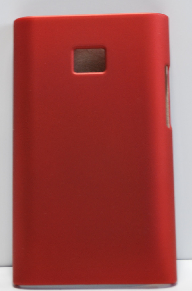 Пластиковый чехол для LG Optimus L3, L801