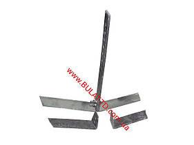 Плоскорез (пропольник) для мотоблоков и мотокультиваторов, универсальный, со сменными ножами