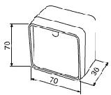 Фотоелементи безпеки CAME DELTA-E дальньої дії - 20 метрів, фото 9