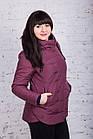 Женская куртка батальных размеров от производителя в Украине - модель весна 2018 - (кт-234), фото 10