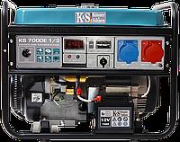 Копія Бензиновый генератор KÖNNER & SÖNNEN KS 7000E-1/3 (Германия)