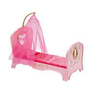 Новинка игрушка Интерактивная кроватка для куклы BABY BORN - СЛАДКИЕ СНЫ ПРИНЦЕССЫ (свет, звук)