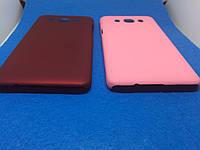 Samsung J5(2016) Чехол пластик /бархат/ бордо, фото 1