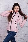 Женская брендовая куртка - модель весны 2018 - (кт-248), фото 10