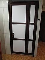 Влагостойкая Дверь из Термодревесины
