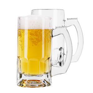 Бокал для пива 1 л. стеклянный с ручкой Tarros OctoberFest, Libbey