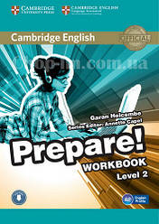 Cambridge English Prepare! 2 Workbook with Downloadable Audio / Рабочая тетрадь